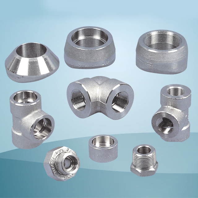 Forged Steel High Pressure Pipe Fittings