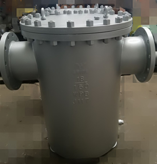Cast Steel Basket strainer